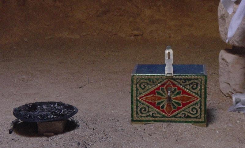 Подземная мечеть Караман-Ата и ее окрестности.
