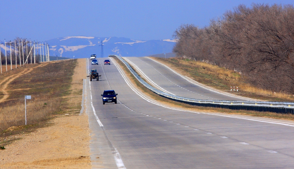 "Highway ""Western Europe – Western China""."