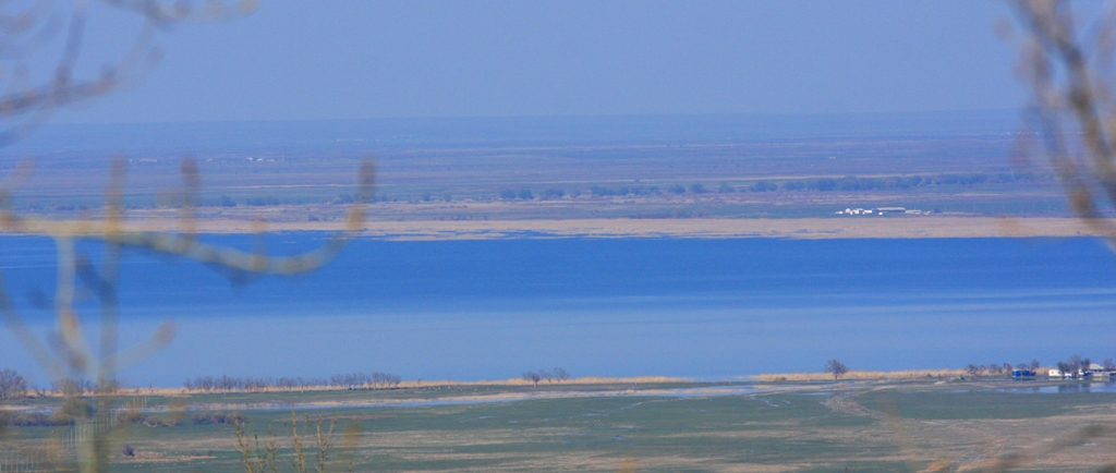 Lake Bilikol. Zhambyl of province.