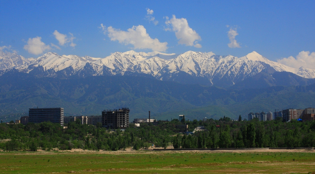 Almaty city.