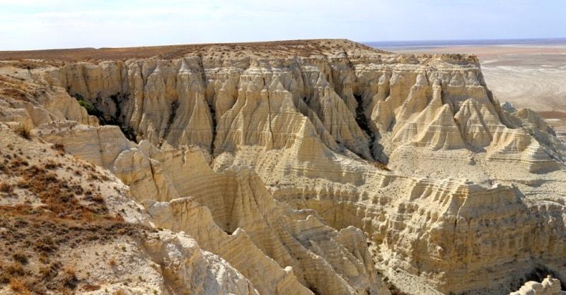 Ustyurt Plateau.