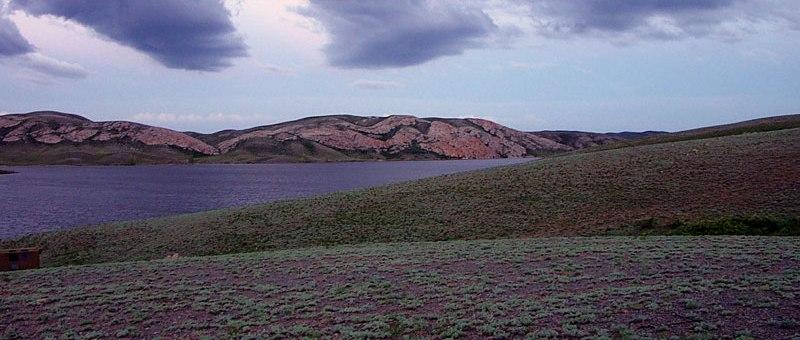 Mountains Mugodzhary. Aktybinsk province.