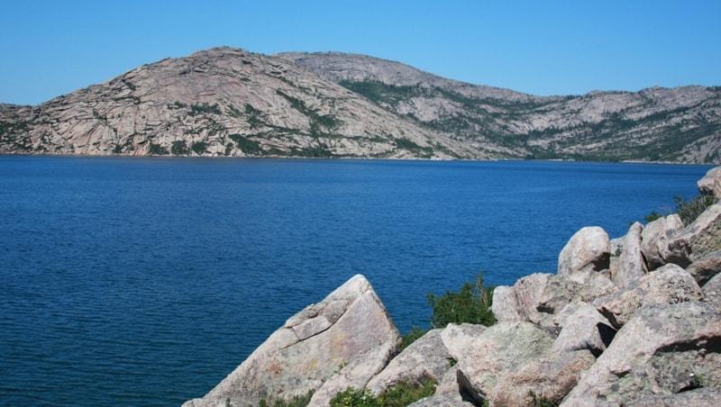Sibinskie (Ablaiket) lakes. East-Kazakh province.