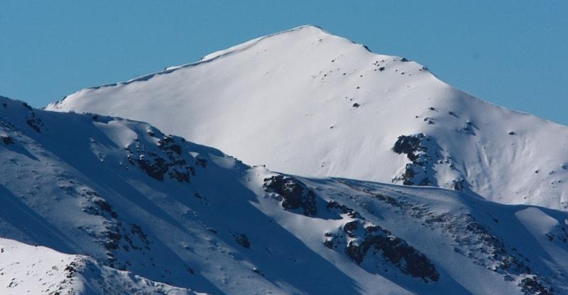 Ridge Zailiysky Ala-Tau. Northern Tien Shan.