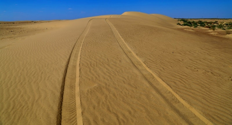 Deserts of the Turan lowland and Balkhash.