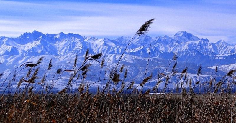 Горы Заилийский Алатау.