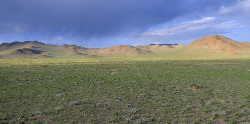 Steppes of Central Kazakhstan.