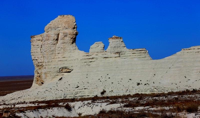 Cretaceous plateau Akkergeshen.