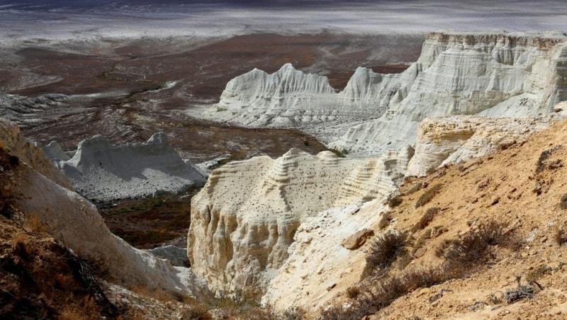 Меловое плато Актолагай.