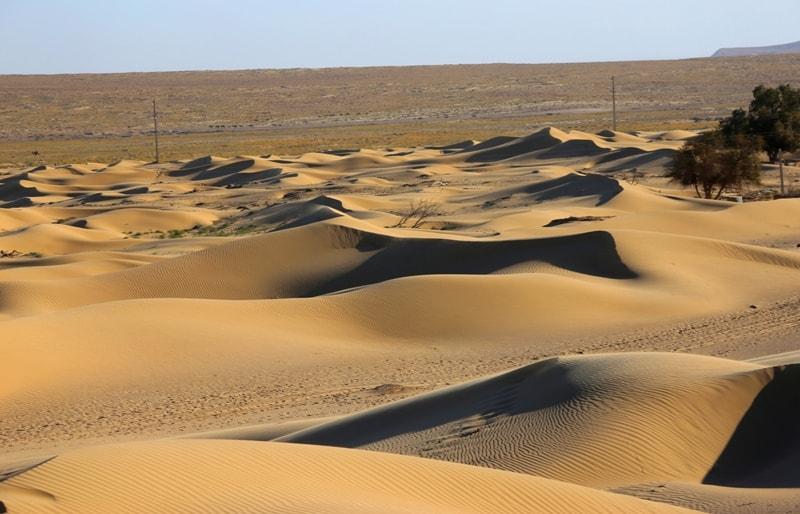 Пустыня Бастанкум. Мангистауская область.