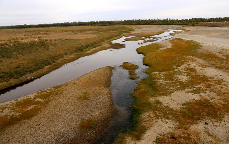 Эмба река.