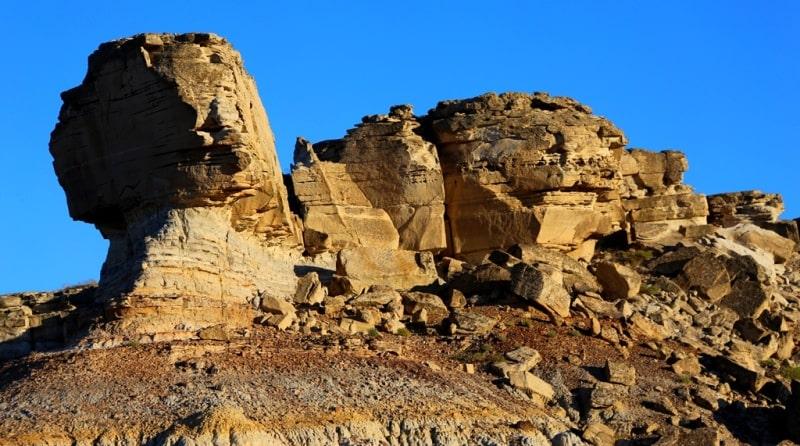 Ridge North Aktau Mangyshlak and environs.