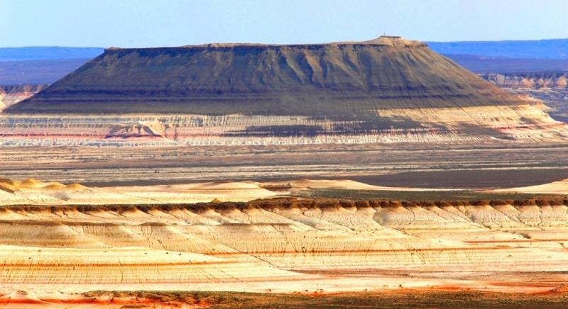 Kyzylkup valley on Mangyshlak.