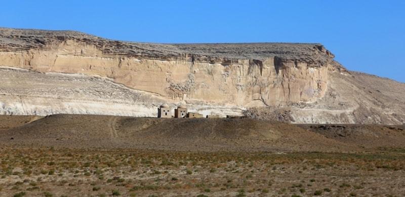 Ustyurt Plateau in Kazakhstan.