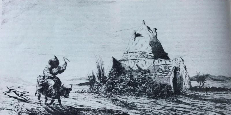 Киргизская гробница.