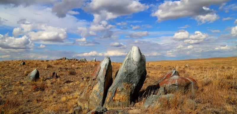 Wild stones of Karasu.