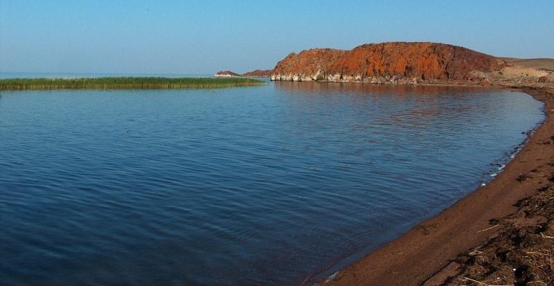 Balkhash Lake.