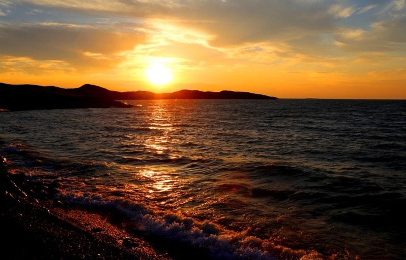 Lake Balkhash.