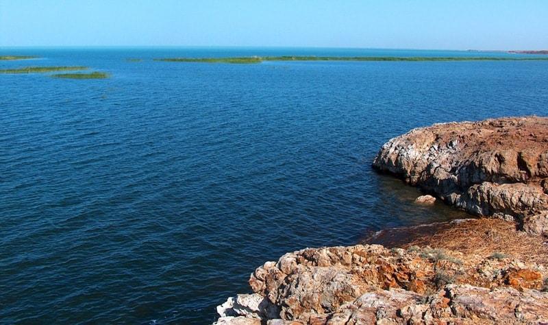 Озеро Балхаш.