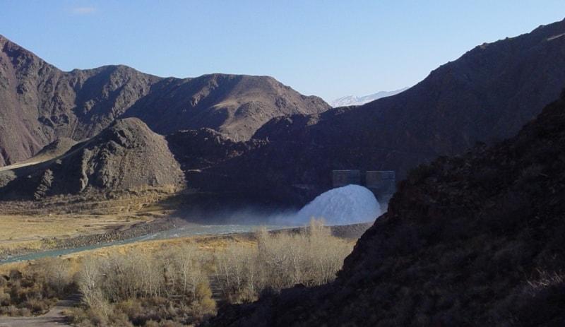 Bortogai reservoir.