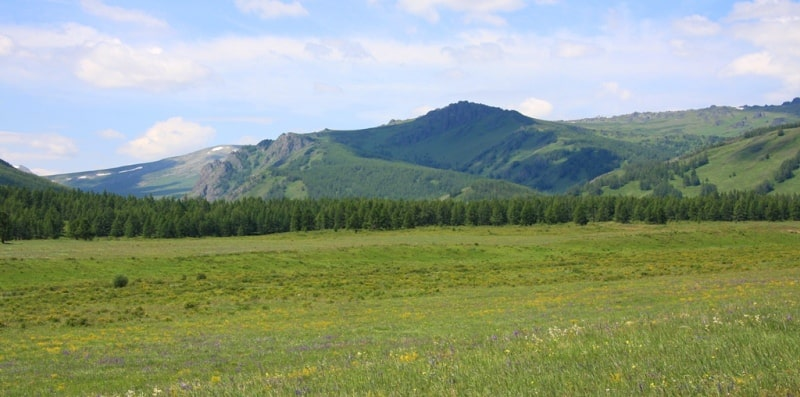 Sights of Kazakhstan Altai.