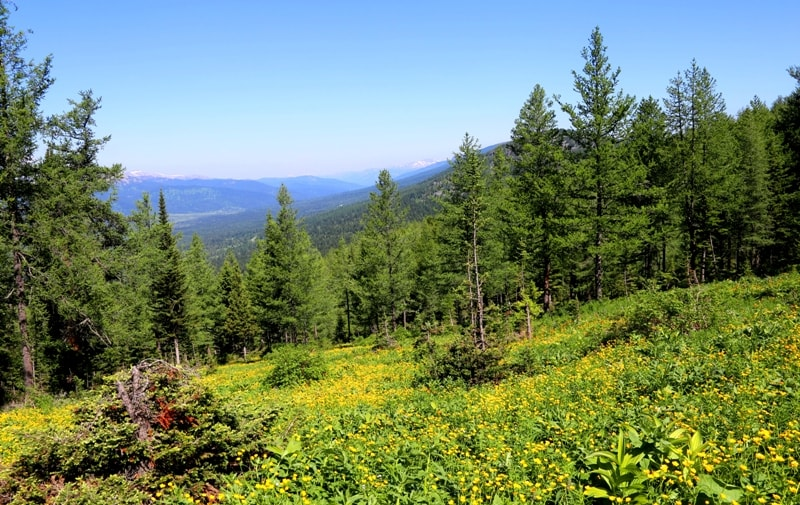 Natural sights of the Ivanovskiy ridge.