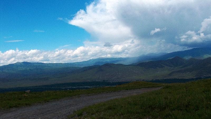 Sarymsakty ridge.