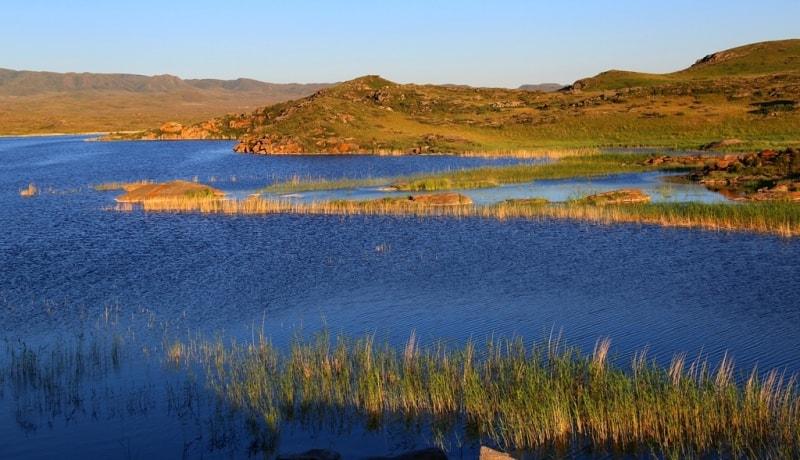 Kemirkol lake.