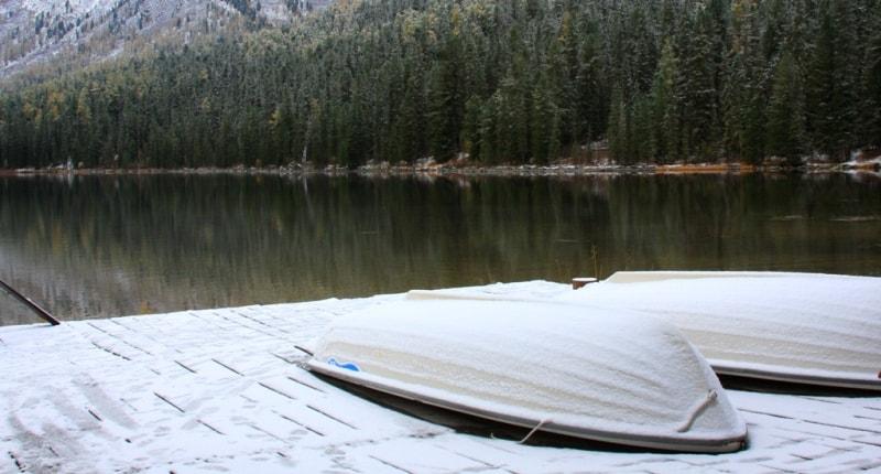 Rakhmany lake in Katon-Karagai park.
