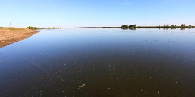 Река Ишим.