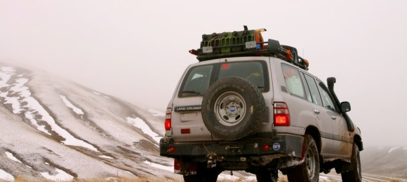 Details of a trip through Assy plateau.