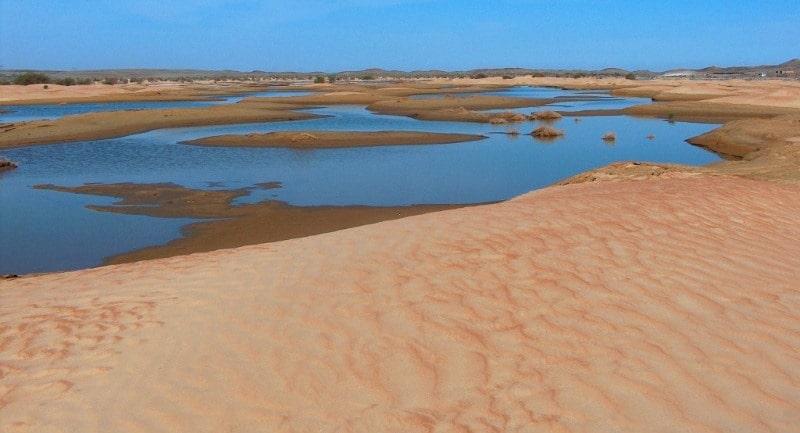 Bestas sandy desert.