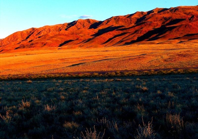 Mountains Dzhetysu in South Kazakhstan.