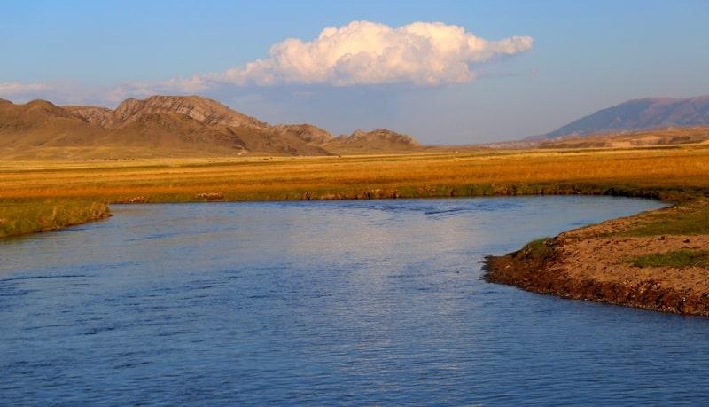 River Kegen and vicinities.
