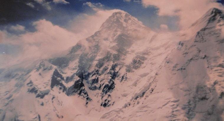 Khan-Tengri peak.