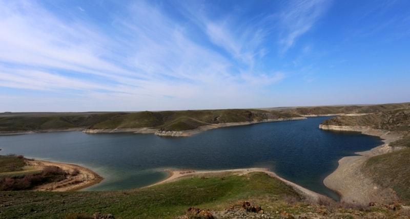 Kurtinskoe reservoir.