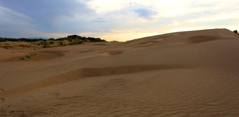 Deserts Semirechye.