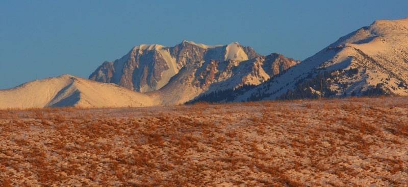 The peak Talgar.