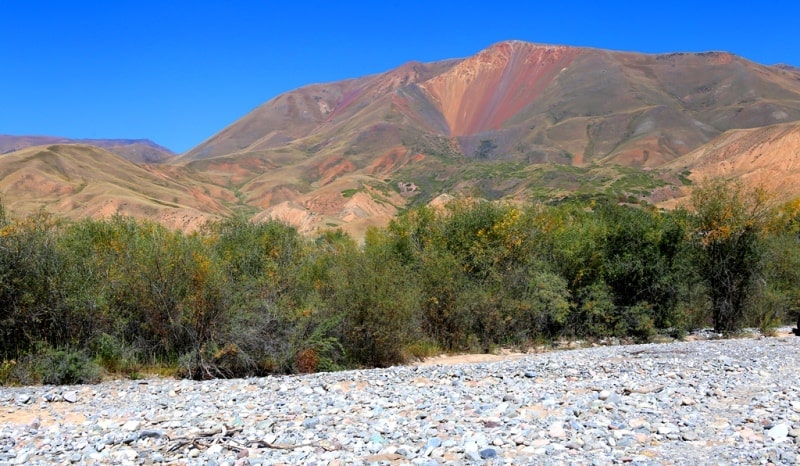 The valley Tekes.