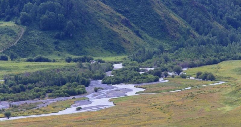 The river Tentek.