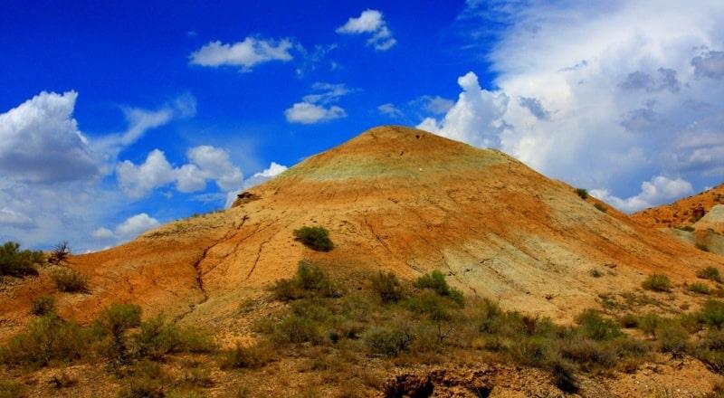 Tiger mountains (mountain Dolantau) and their vicinity.