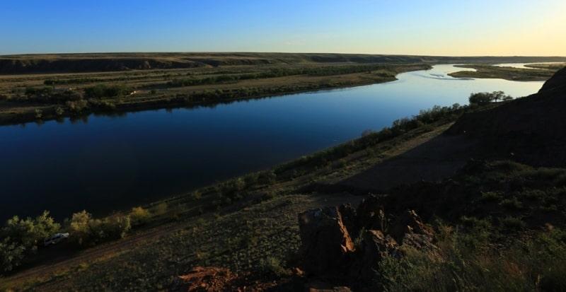 The Zhetysu rivers.