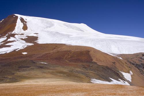 Северная часть ледника Кокбулак.