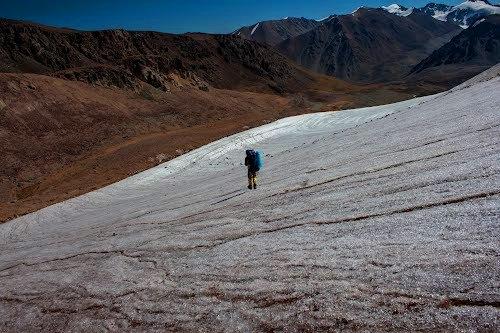 Ледник Кокбулак, Северный Тянь-Шань.