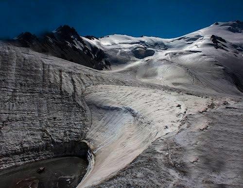 Ледник Тогузак.