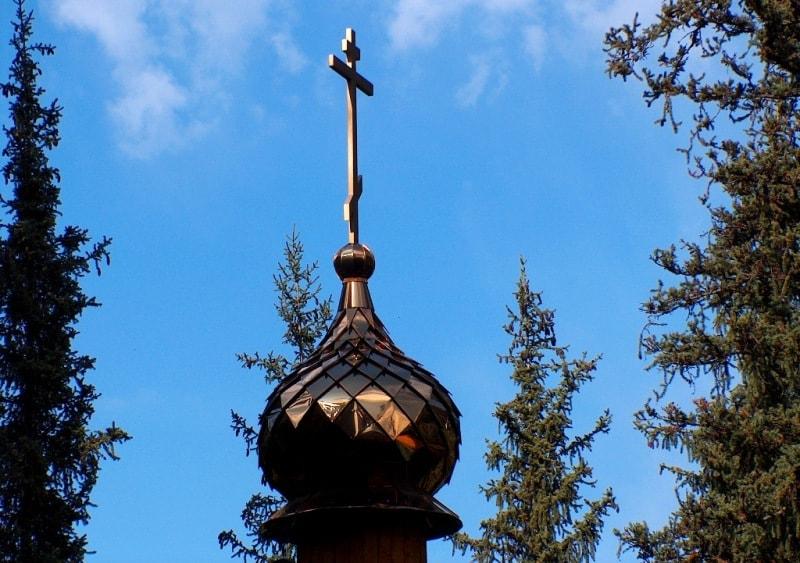 Купол Аксайской церкви.