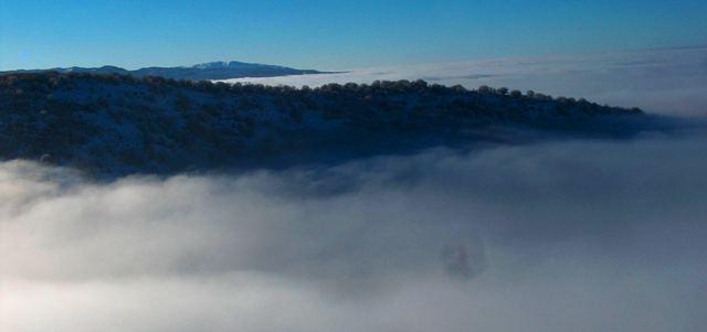 Туман в ущелье Бутаковка.