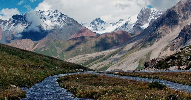 Верховья реки Левый Талгар.