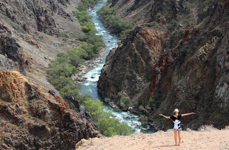 Canyon Aktogay on Charyn.