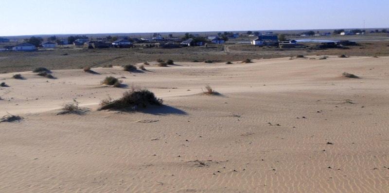 Aral Kara-Kum.